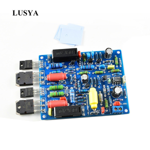 Image 1 - Lusya 2pcs QUAD405 Audio Power Amplifier Board 100W*2 stereo audio Amplifier DIY KIT Assembled board