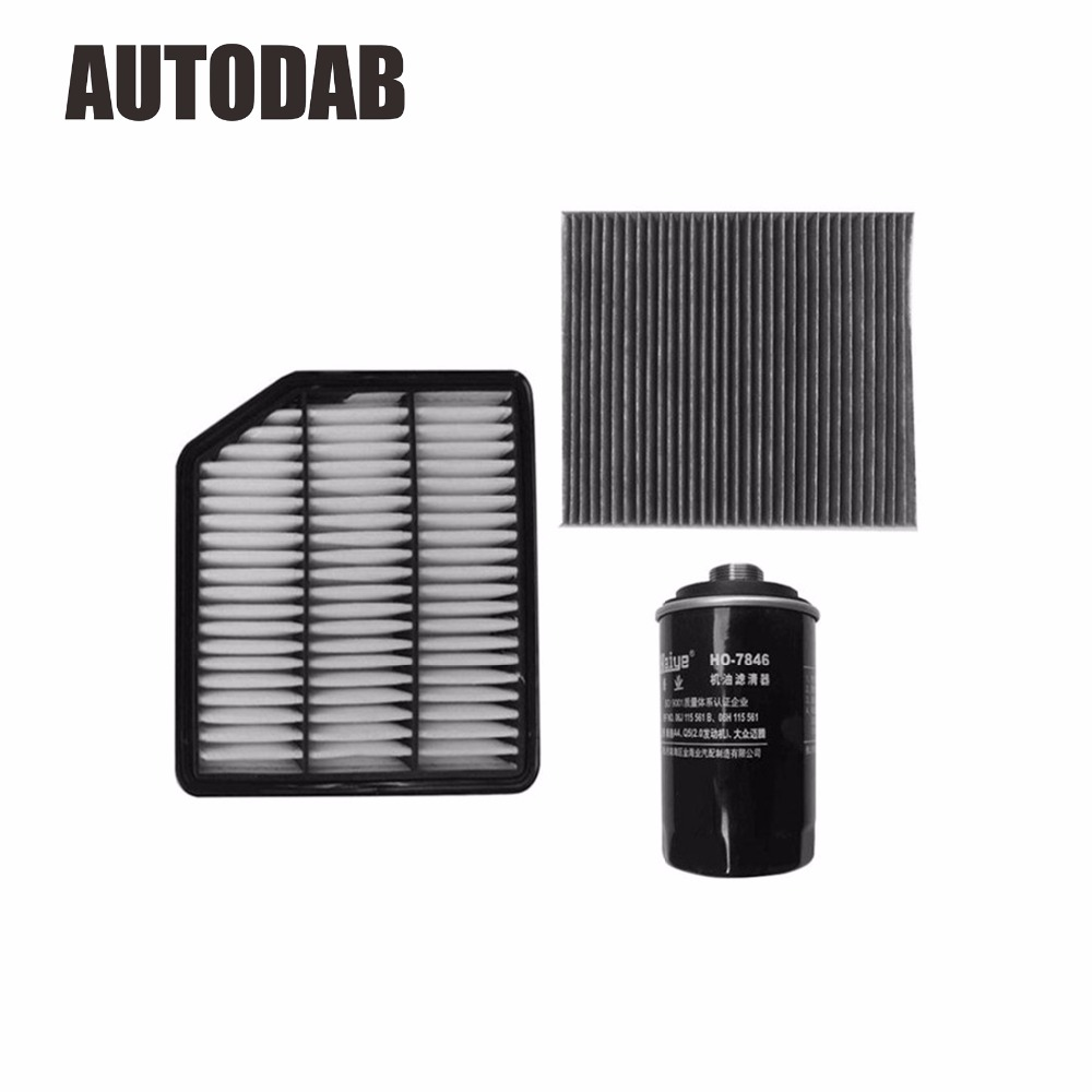 High Quality filters for Great Wall H6 Coupe 2 0T petrol engine air filter oil filter