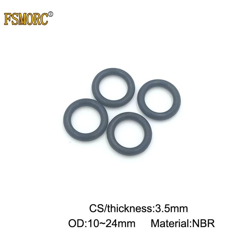 10x 14 x 2mm Nitrile 90 O/'Ring