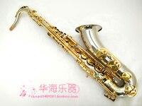 SUZUKI High Tenor Sax Cupronickel Tube Gold Key B Tenor Sax Metal Mouthpiece Free Shipping