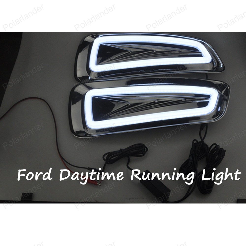 Free Shipping High Quality Car Special LED DRL For Ford F150 SVT Raptor 2009-2014 Daytime Running Light ,Driving/ Fog Lamp