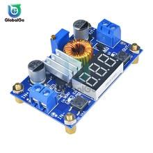 5A DC CC CV литиевых Батарея Шаг вниз зарядная плата Мощность понижающий преобразователь светодиодный вольтметр Питание модуль