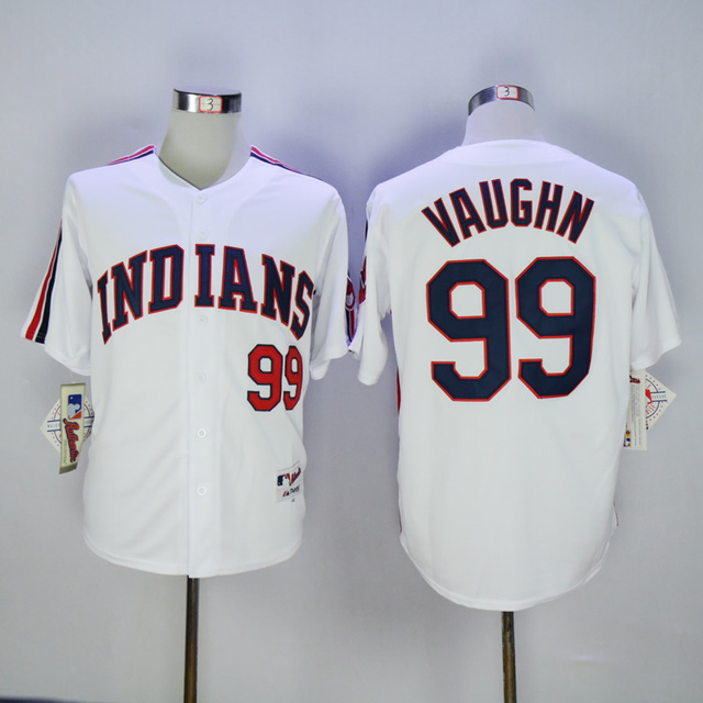 premium selection 96f8c a02f6 #99 Ricky Vaughn Jersey, Men's Authentic Baseball Jerseys Cheap, Stitched  Ricky Vaughn Indians Jersey White/Red/Navy blue S 3XL-in Baseball Jerseys  ...