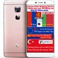 Оригинал Letv LeEco le 2 два X620 3 ГБ RAM 16 Г ROM FDD LTE Мобильного Телефона helio X20 2 ГГц Дека Core 1920x1080 P 5.5 дюйма 16.0MP Android 6
