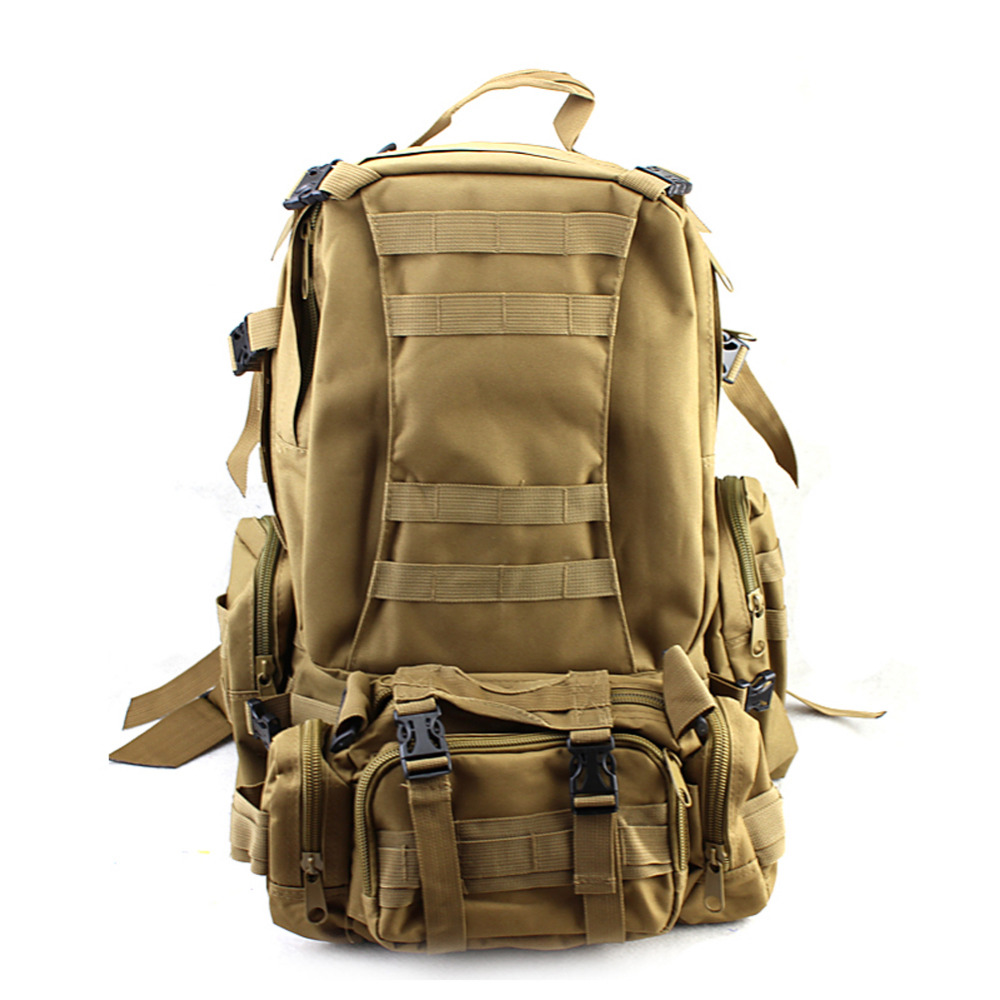 50L Molle Assault Tactical Bag Outdoor Army Military Rucksacks Backpack Camping Bag Large Capacity Traveling Hiking Back Pack outdoor camping hiking hunting bag rucksacks trekking bag durable camo large capacity backpack ea14