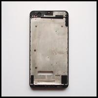 Haute Qualité Cadre Avant LCD Écran Cadre Batterie Porte Quatrième De Couverture logement Cas Pour Huawei Honor 6 Plus Avec Puissance Volume Boutons