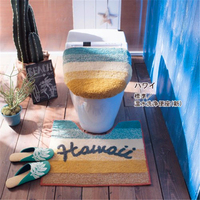 Japan Belle Maison Original single Universal High quality toilet seat cover Toilet Lid cover Hawaii toilet ring Bathroom Mat