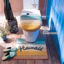 Japan Belle Maison Original single Universal High quality toilet seat cover Toilet Lid Hawaii ring Bathroom Mat