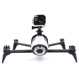 Image 2 - Parrot bebop 2 Drone Extended Bracket สำหรับ Gopro Hero 3/4/5/6/7 Action 360 องศา VR กล้อง Mount ผู้ถือ parrot Acce