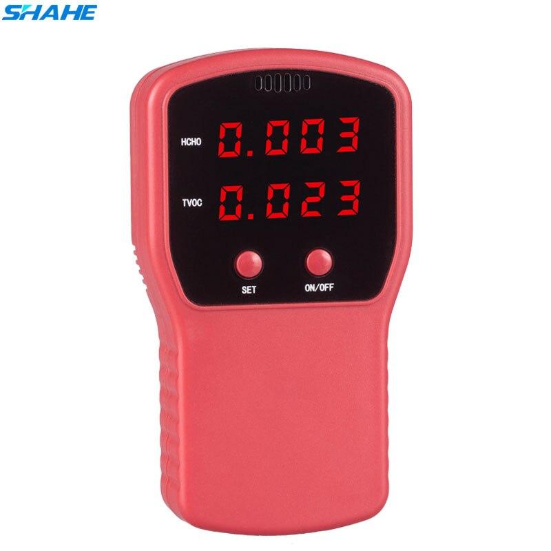Konstruktiv Shahe Digitale Formaldehyd Detektor Luft Qualität Tester Analyzer Tvoc Gas Analyzer Tool Amsj Werkzeuge Analysatoren