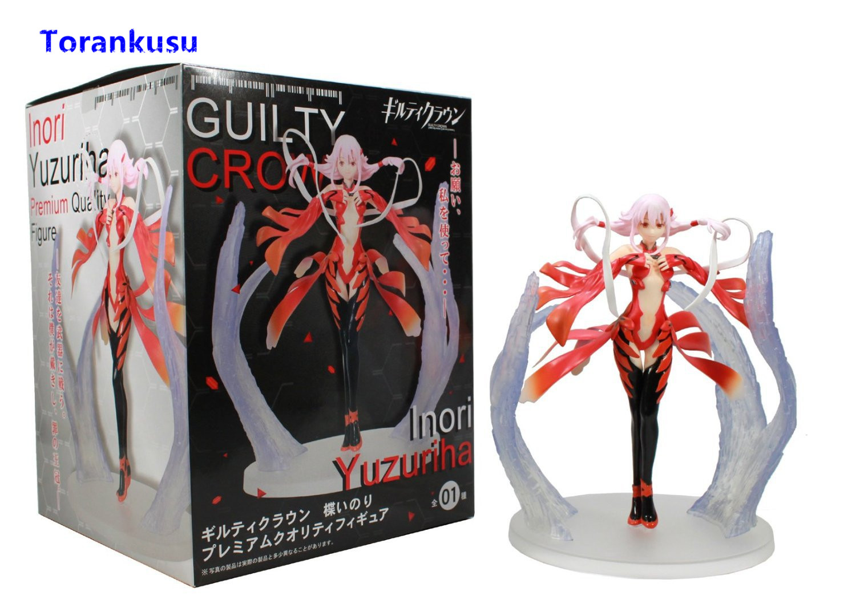 Guilty Crown Figure Yuzuriha Inori Anime Figure Girl Kawaii Figurine PVC Collectible Action Figures Model Doll Toys Gift XP