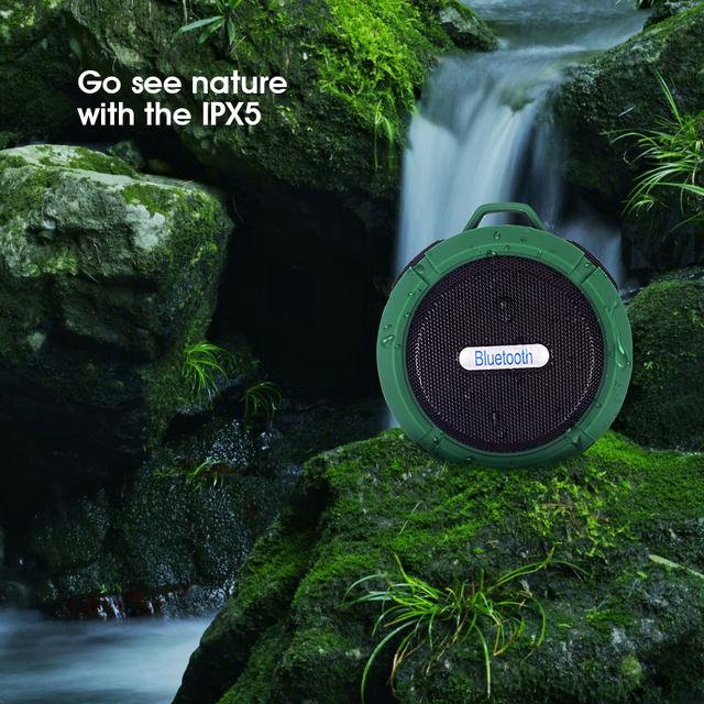 Waterproof Mini Wireless Loudspeaker