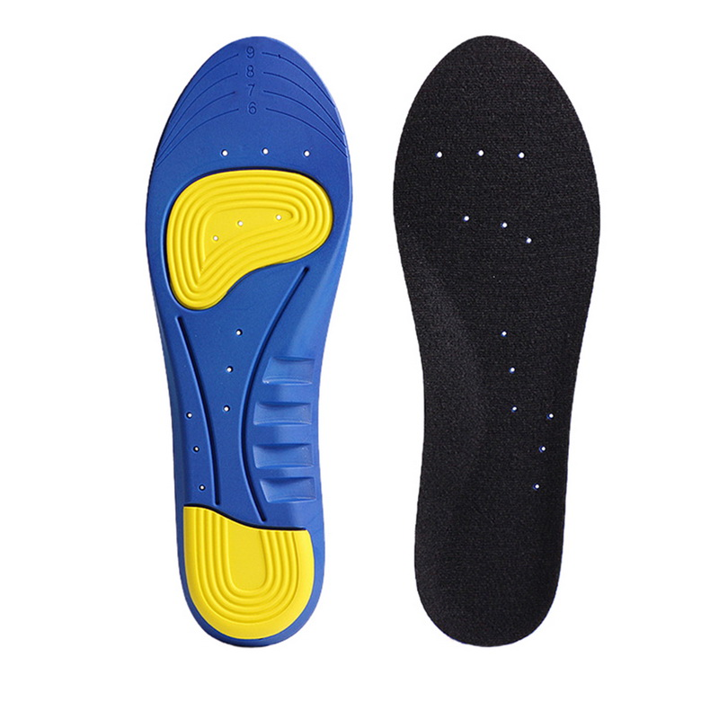 Laamei Free Size Unisex Silicone Orthotic Arch Support Sport Shoe Pad Sport Running Gel Insoles Insert Cushion For Men Women