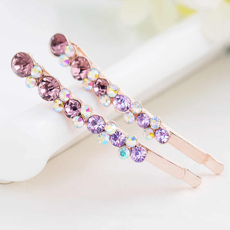 Retro Bruiloft Vlinder Dame Haarspeld Strass Kristal Haarspeld Hairgrip Hairclips Haar Clip Grip Pin Barrette Ornament