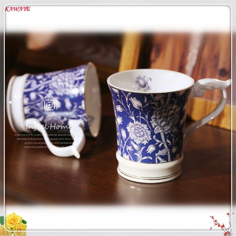 1 pcs Personnalité Tasse En Céramique Lait Café Tasse Couple Tasse Porcelaine Fine Tasse Classique Cadeau Home Office Verres Fournitures 5ZDZ315