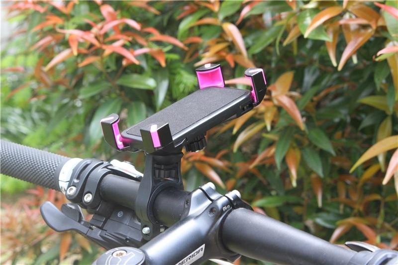 Soporte universal para teléfono móvil de bicicleta Motocicleta - Accesorios y repuestos para celulares - foto 5