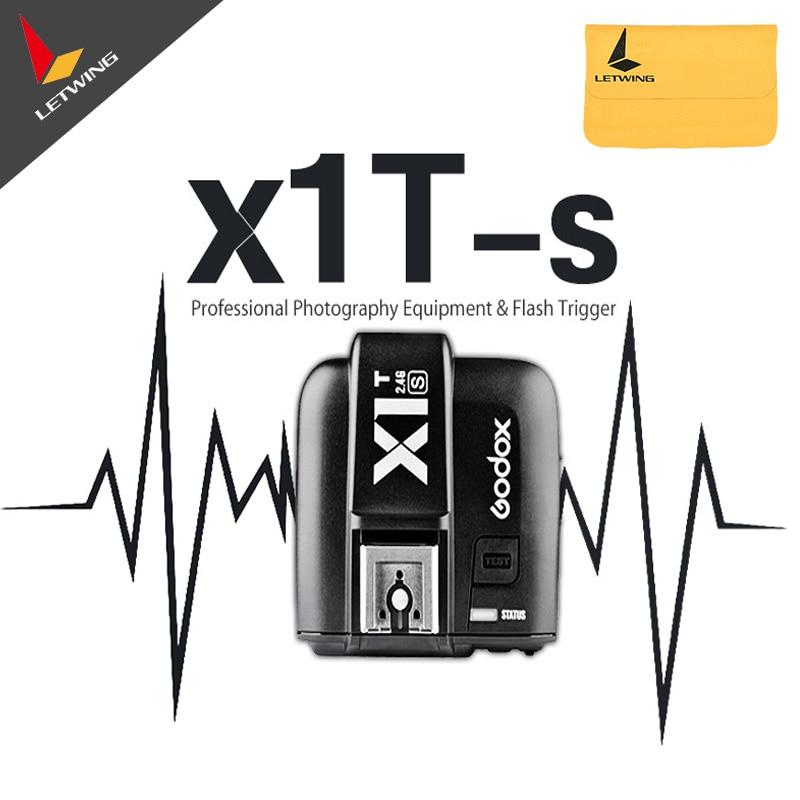 Newest Godox X1R-S X1T-S TTL Wireless Receiver Trigger for Sony DSLR Cameras a77II, a7RII, a7R, a58, a99, ILCE6000L allsmile 24 pcs beauty makeup brushes set eye shadow lip blush foundation powder brush tool kit pincel maquiagem cosmetics tools