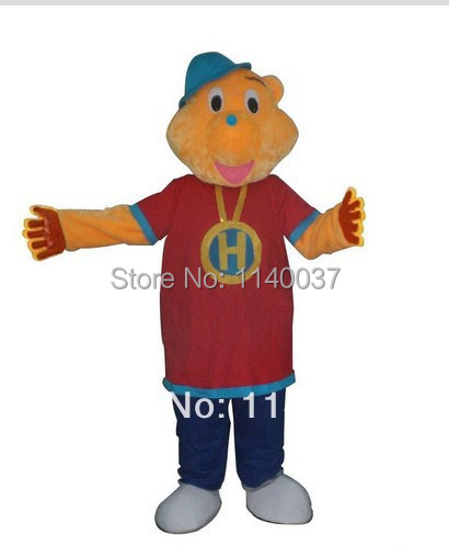 NO.1 MASCOT Best Quality Hip Hop Harry Mascot Costume Adult Size Cartoon Mascote Outfit Suit Fancy Dress Cosply Carnival Costume
