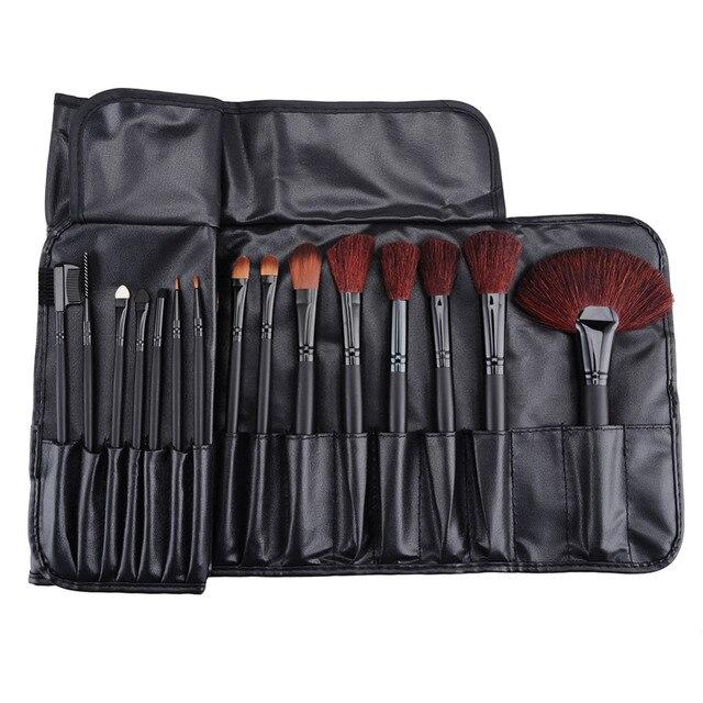 Profesional 32 unids Pinceles de Maquillaje Para Mujeres de La Manera Suave de La Cara labios Cejas Sombra de Ojos Maquillaje Cepillo Conjunto Kit + Bolsa Bolsa