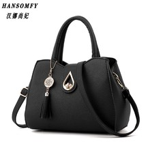 100% Genuine leather Women handbag 2017 New Fashion handbag Crossbody Shoulder Handbag women messenger bags Water drop design