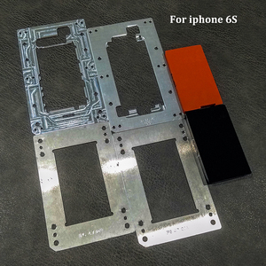Image 4 - Novecel إصلاح الهاتف المحمول آيفون 6 6s 7 8 Plus تحديد المواقع محاذاة الترقق قوالب متوافقة ل YMJ آلة Q5 تغليف