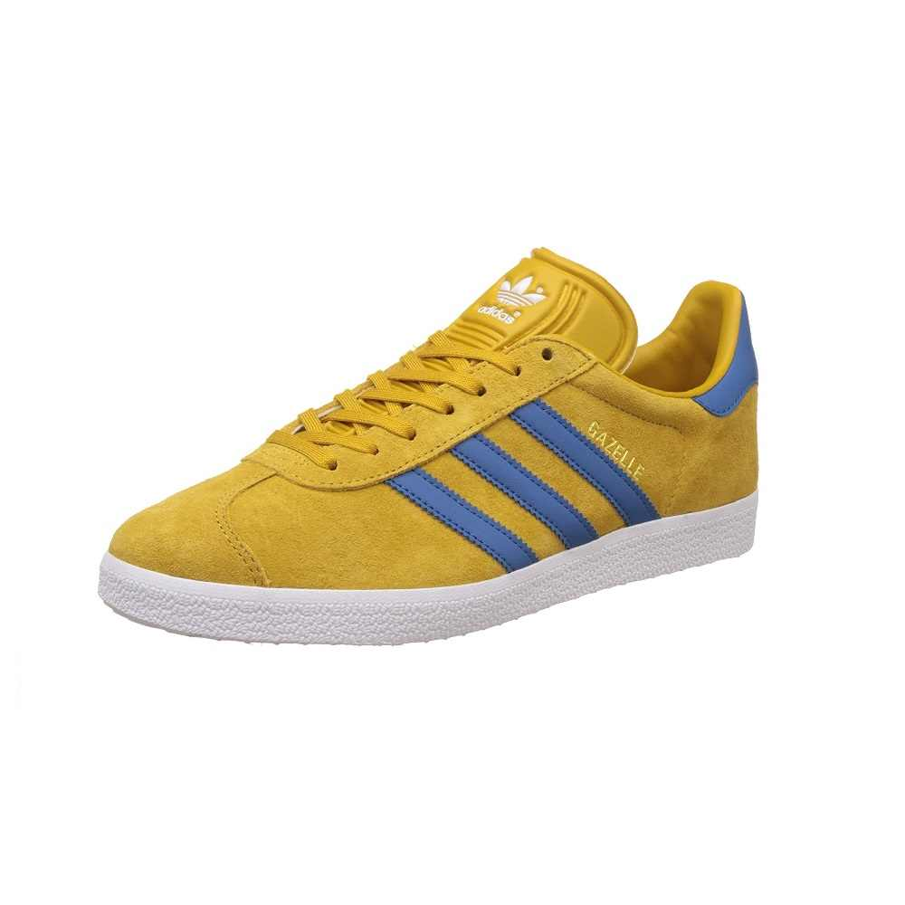 Sneakers BB5258 adidas original gazelle YELLOW and blue MAN