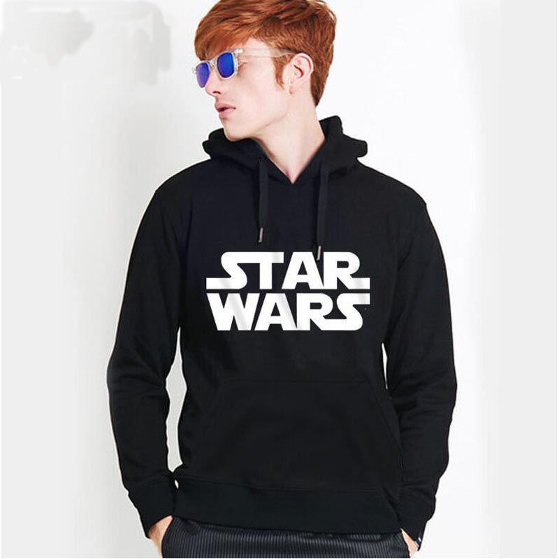 2016 new fashion casual man's hoody boy movie Star Wars casual Hiphop Hoodies man sweatshirt hiphop street top pullover image