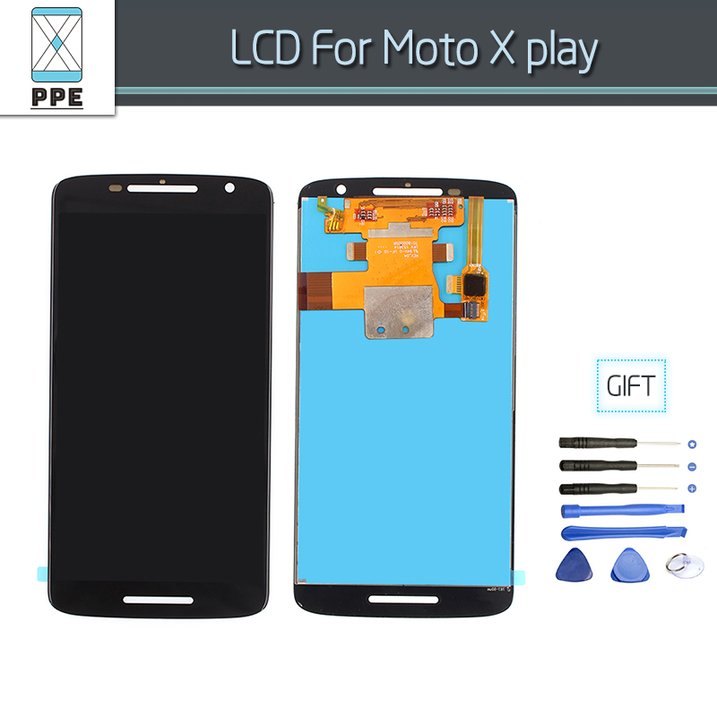 For Motorola Moto X play X3 XT1561 XT1562 XT1563 Lcd Screen Display Touch Digitizer Glass Assembly 5.5 Phone Replacement Tools