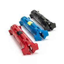 Wielofunkcyjny przewód elektryczny Stripper Pen obrotowy kabel koncentryczny przecinak do papieru urządzenie do ściągania izolacji szczypce narzędzie do ściągacz do kabli narzędzie tanie tanio VAHIGCY CN (pochodzenie) Maszyny do obróbki drewna STAINLESS STEEL Gięte Amerykańska Szczypce do zdejmowania izolacji