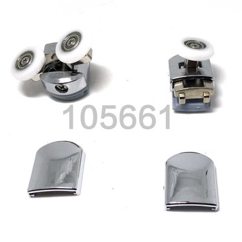 8 prysznic rolki drzwiowe koła koła prowadnice PulleysCY-908AB d = 25mm tanie i dobre opinie Plac Ze stopu Aluminium ze stopu Aluminium Akrylowe Wody zachowując bar Zawias Electroplate CY-908AB-8PCS Prostokąt Diament typu