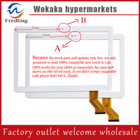New Touch Screen For 10 1 Waywalkers Newest S106 4G Tablet Touch Panel Digitizer Sensor Glass