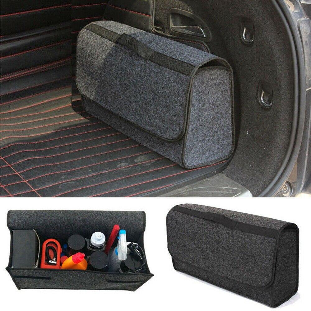 Car Storage Bag >> Us 7 54 42 Off Reusable Car Storage Bag Portable Felt Car Kit Trunk Cargo Organizer Folding Caddy Storage Crash Bag For Car Truck Suv Lc In Storage