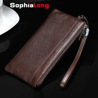 Noble Wallet Cases For IPhone 7 Plus Case Genuine Leather Bag For IPhone 6 S Plus