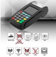 Терминал POS версии 3g, беспроводной терминал оплаты с читателем NFC и LAN и wifi NEW8210