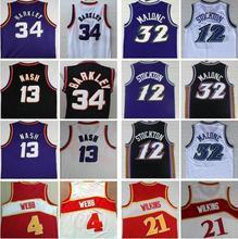 cf63d4d2f87 Cheap College men Basketball Jerseys  13 Steve Nash Jersey John Stockton Karl  Malone Spud Webb