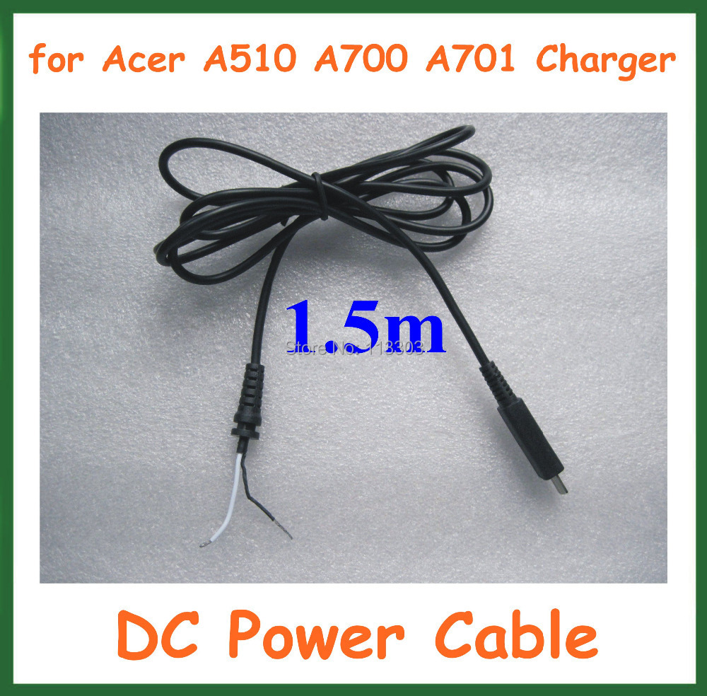 10pcs DC Power Connector Charger Cable for Acer Iconia Tab A510 A700 A701 Tablet PC Power Adapter Jack Cord DC Cable terios s3 wireless bluetooth gamepad bluetooth joystick gaming controller black for android smartphone tablet pc holder included