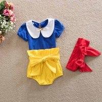 2016 New Baby Girls Summer Clothes Sets 0 24m Toddler Girls Clothing Little Princess Set Shirt