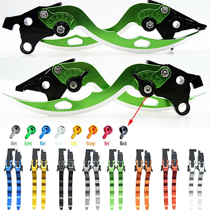 ФОТО For Honda VF750S SABRE 1982-1986 VFR750 1991-1997 CBF1000 2006 2007-2009 Motorcycle Adjustable CNC Blade Brake Clutch Levers