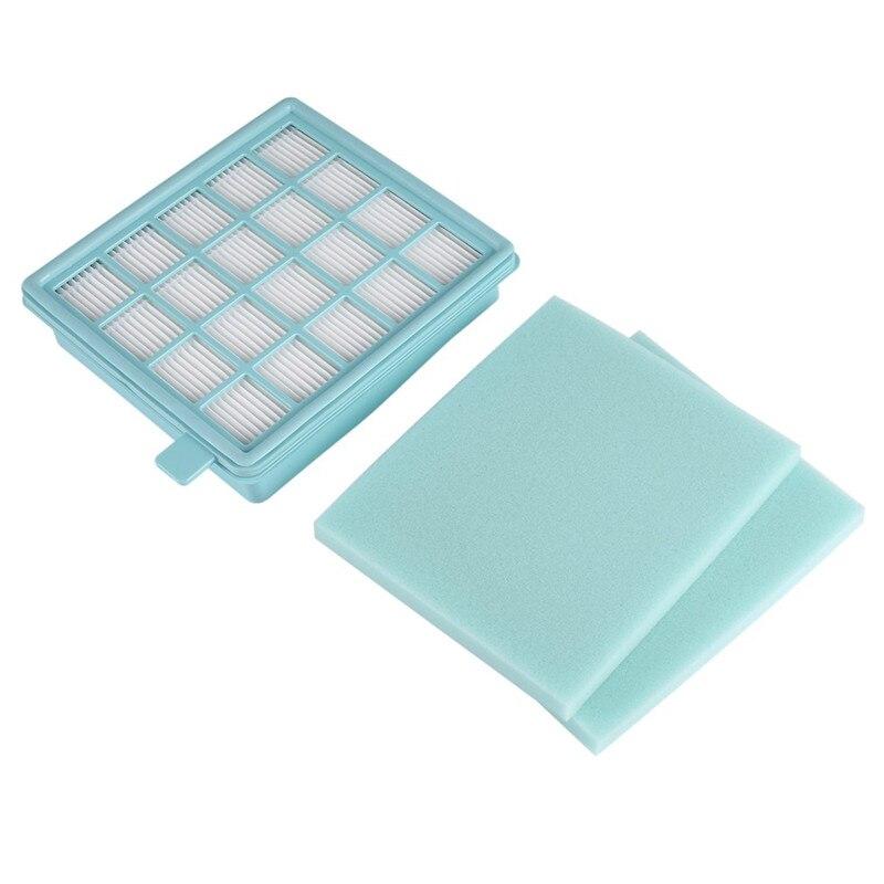 Cleaner Part 1Piece Vacuum Cleaner Filter +3Pcs Sponges Replacement For Philips FC8470 FC8471 FC8472 FC8473 FC8474 FC8476 FC8634