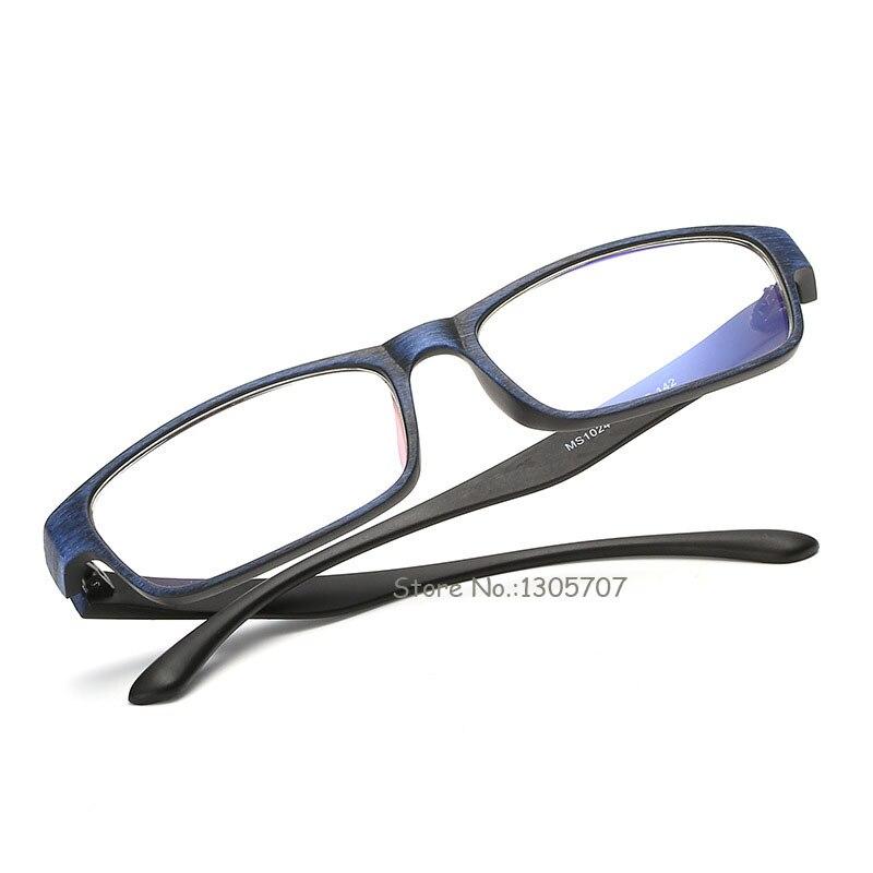 JIE.B Look like Wood Glasses Frame For Women Men Optical Myopia ...