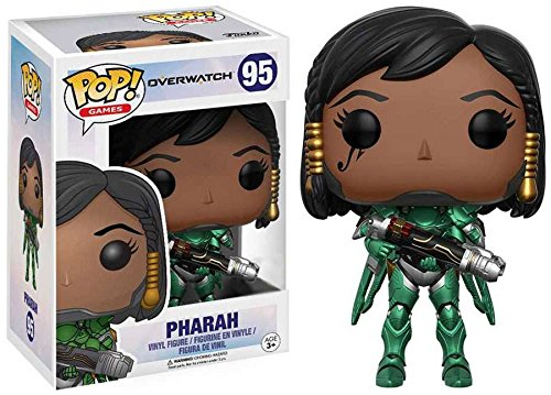 2017 ECCC Exclusive Funko pop Official Games: Pharah Limited Edition Vinyl Figure Collectible Model Toy In Stock hannibal funko figure will graham funko pop vinyl figures funko 3 75 vinyl figures hannibal pop funko doll toy