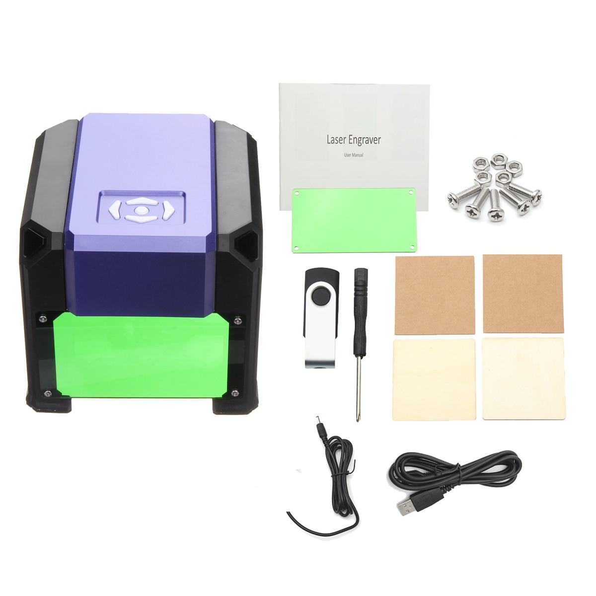 1500 mW 80x80mm USB pulpit Mini grawer laserowy maszyna drukarki logo DIY znakowania Cutter grawerowanie zakres lasera CNC rzeźba dla WIN