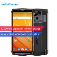 Ulefone Power 5 4G Smartphone 6 Inch 13000mAh Android 8 1 6G 64GB Octa Core Wireless