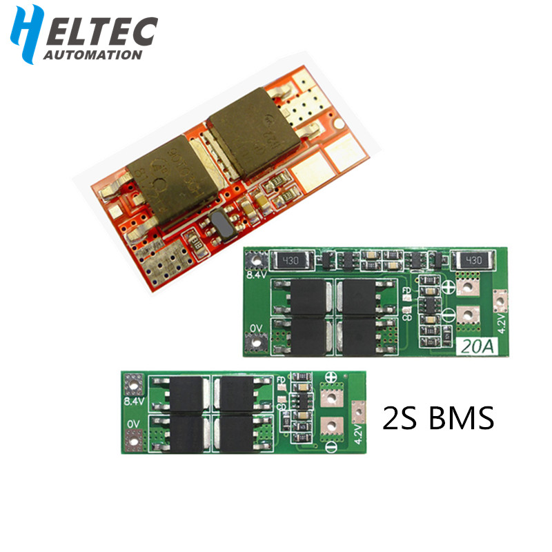 BMS 2S 10A/20A Battery Protection Board For 3.6V 3.7V Li-ion Battery