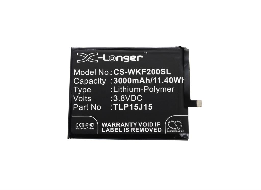 Cameron Sino 3000mAh Battery TLP15J15 For Wiko FEVER, Fever 4G