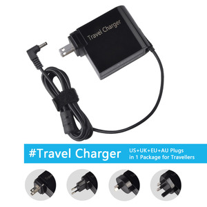 Image 1 - 19V 3.42A 65W Power Adapter For ASUS Zenbook UX21A UX31A UX32 UX32A UX32A DB31 UX32A DB51 UX32VD With US UK EU AU 4 Plugs