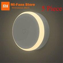 Original Xiaomi Mijia LED couloir veilleuse infrarouge télécommande corps capteur de mouvement Smar maison nuit lampe magnétique intelligent