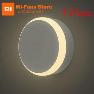 Original Xiaomi Mijia LED Corridor Night Light Infrared Remote Control Body Motion Sensor Smar Home Night Lamp Magnetic Smart(China)