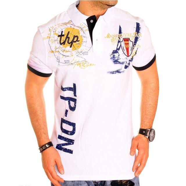 Men's Polo Shirts Short Sleeve Slim Fit