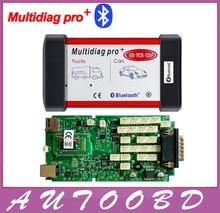 DHL Freeship +Real 2015 R1/2014R2 !! Single Board NEC Relay Multidiag Pro+ Bluetooth OBD2 Diagnostic Tool For Cars / Trucks